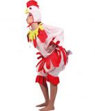 Disfarce de galinha adulto