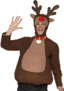 Disfarce de rena adulto Natal