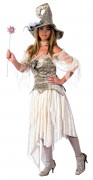 Disfarce de fada medieval luxo mulher Halloween