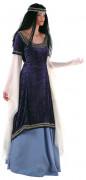 Disfarce princesa dos elfos medieval de luxo para mulher