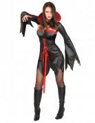 Disfarce vampira sexy mulher Halloween