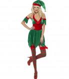 Disfarce duende mulher Natal