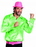 Camisa verde disco para homem