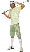 Disfarce golfista homem