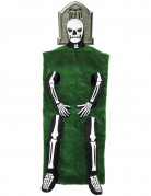 Disfarce lápide esqueleto adulto