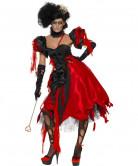 Disfarce princesa rainha de copas mulher Halloween