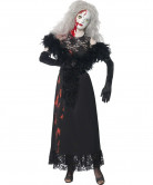 Disfarce boneca sangrenta mulher Halloween