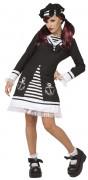 Disfarce marinheiro gótico mulher