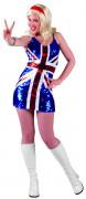 Disfarce vestido Reino Unido mulher