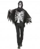 Disfarce segador das trevas esqueleto adulto