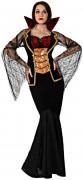 Disfarce condessa vampira mulher Halloween