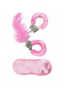 kit sexy cor-de-rosa para adulto
