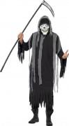 Disfarce segador esqueleto adulto Halloween