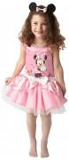 Disfarce Minnie™ cor-de-rosa menina