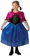 Disfarce Anna Frozen rainha das neves™ luxo menina