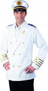 Casaco capitão da marina adulto