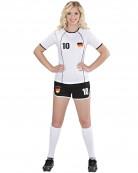 Disfarce futebolista Alemanha mulher