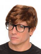 Peruca agente secreto com óculos