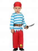 Disfarce pirata marujo bebê.