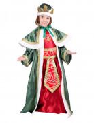 Disfarce Rei Mago Gaspar criança