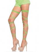 Ligas sexy verdes mulher