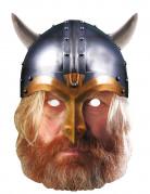 Máscara de cartão viking