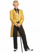 Casaco dourado com lantejoulas homem