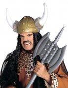 Capacete viking com pele sintética adulto