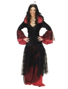 Disfarce rainha das trevas mulher Halloween