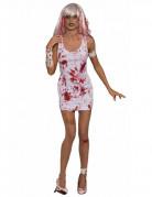 Disfarce vestido sangrento