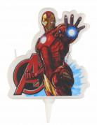 Vela de aniversário Iron Man™ Os Vingadores™