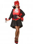 Disfarce vampira sangrenta mulher Halloween