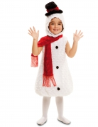 Disfarce boneco de neve criança Natal