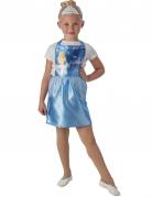 Vestido com tiara Cinderela™ criança