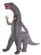 Disfarce insuflável Dinossauro gigante adulto Morphsuits™