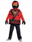 Disfarce  criança Kai Ninjago™ LEGO® vermelho