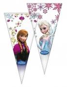 6 Sacos de festa Frozen™ 20 x 40 cm