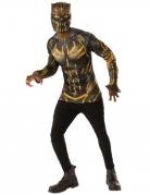 T-shirt e máscara Erik Killmonger™ Black Panther™ adulto