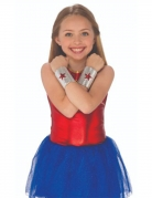 2 Pulseiras Wonder Woman™ menina