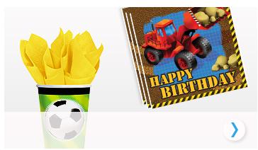 Tudo para um aniversário menino