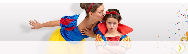 Disfarces pais e filhos
